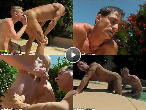 free gay daddy bareback porn video